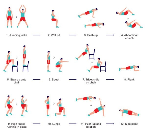 Bedwelming 7 minute work-out: de ideale work-out voor thuis | Dokterdokter.nl #LV24